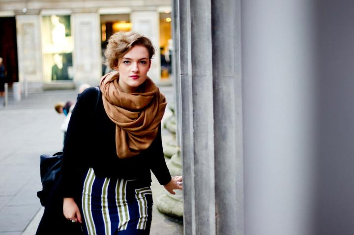 Style File – Glasgow street style – The midiskirt