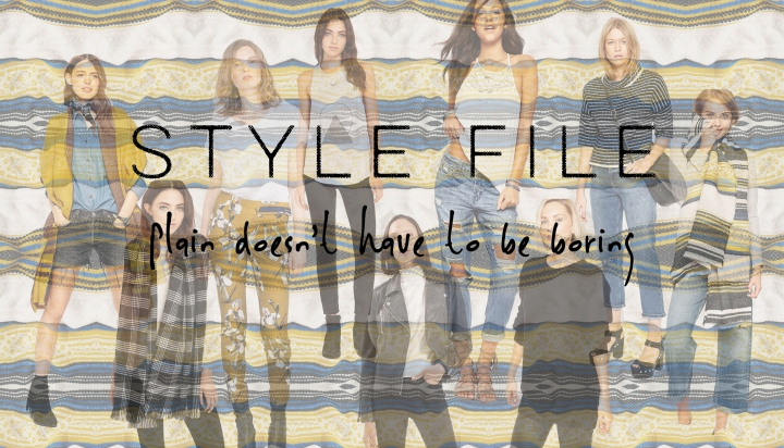 Style File – Plain doesn't have to be boring!