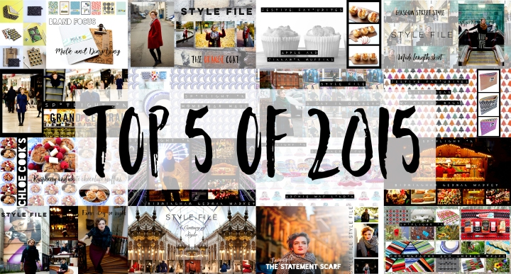 My 5 top posts of 2015