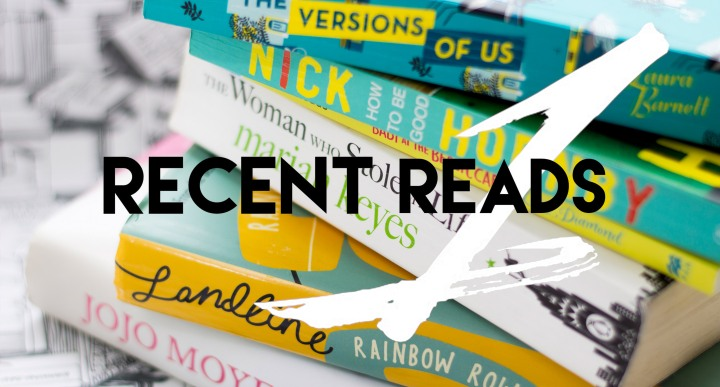 Recent Reads 1
