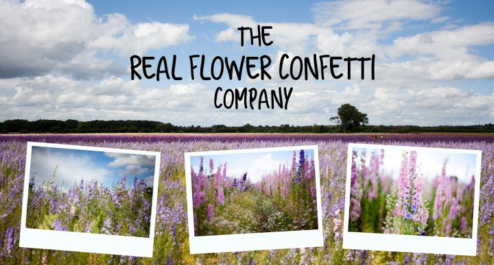 The real flower confetti company | Fabric forward